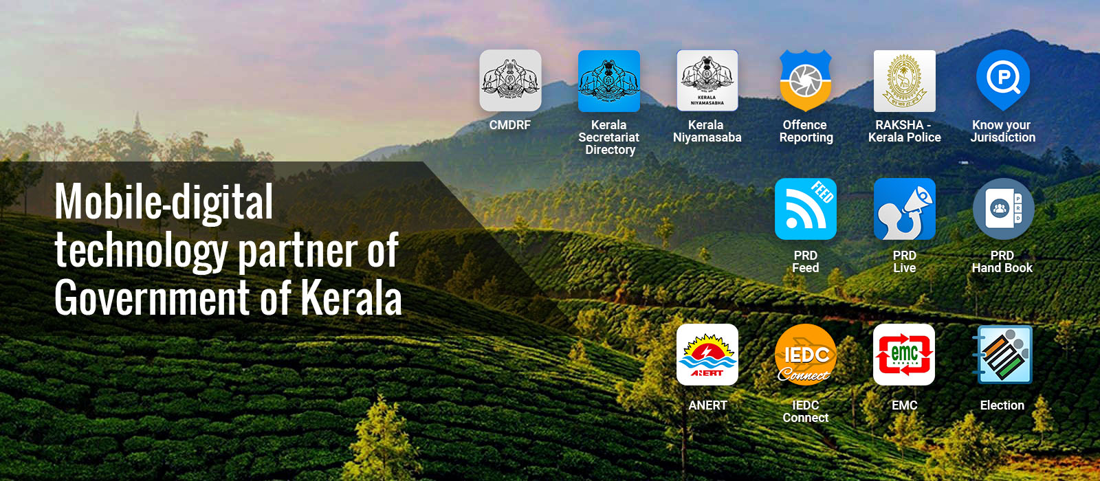 Mobile digital technology patner for Goverment of Kerala